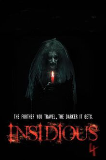 First Official Insidious Chapter 4 Image Sends Elise Back Into The Further Ihorror Scary Movies Horror Movies Best Horror Movies