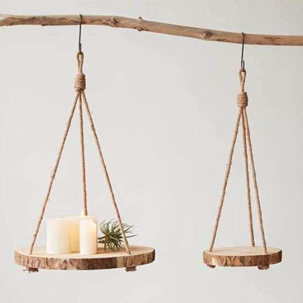 Paulownia Hanging Wood Slice
