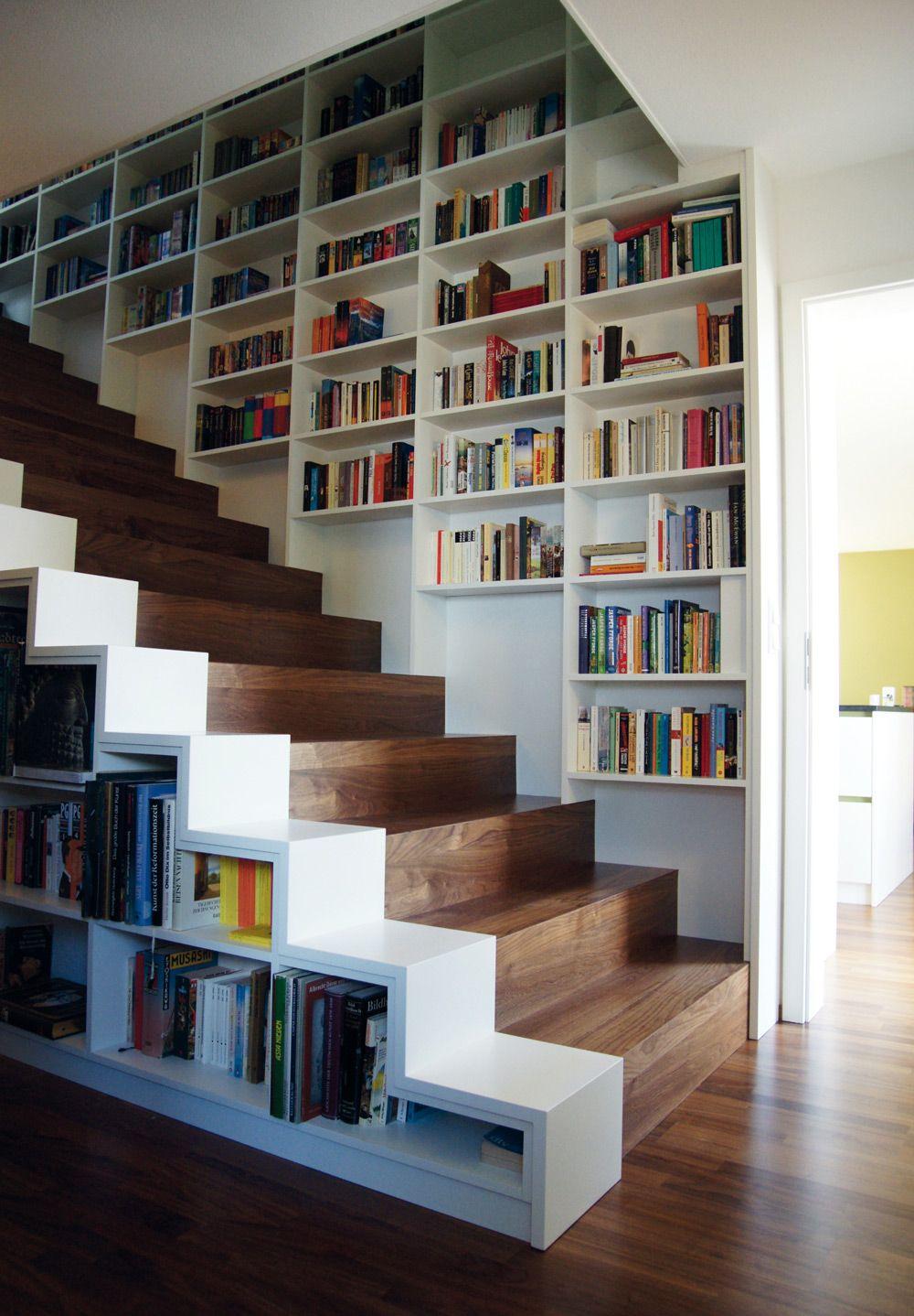 Stunning Bucherregal Unter Der Treppe Design Idee Contemporary ...