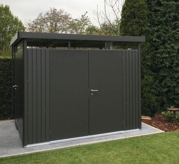 Gerätehaus HighLine in 2020 Gartenhaus metall, Schuppen