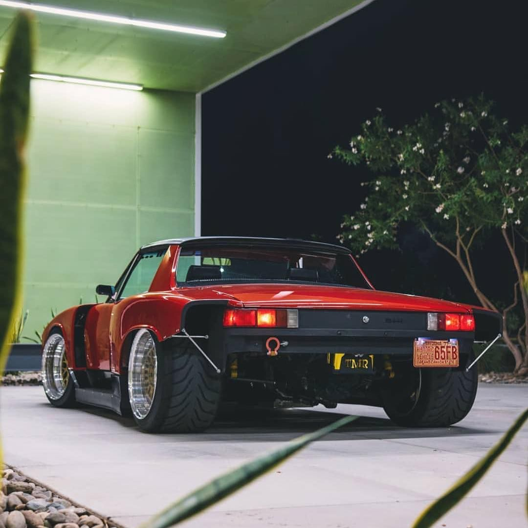 This Guy's LS Swapped Porsche 914 (With