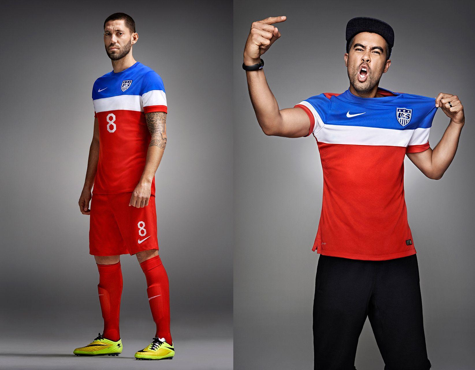 Usa Mens Soccer 2014 USA. men's soccer. jer...