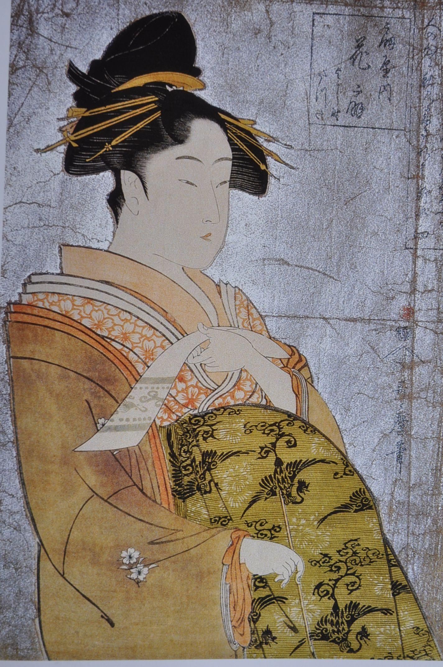 Oiran Hanaogi - Kitagawa Utamaro