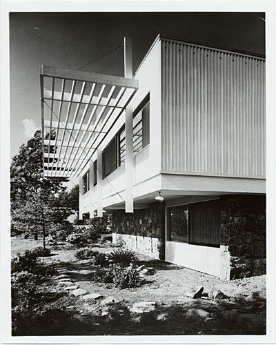 Grieco House Andover Mass Marcel Breuer New York