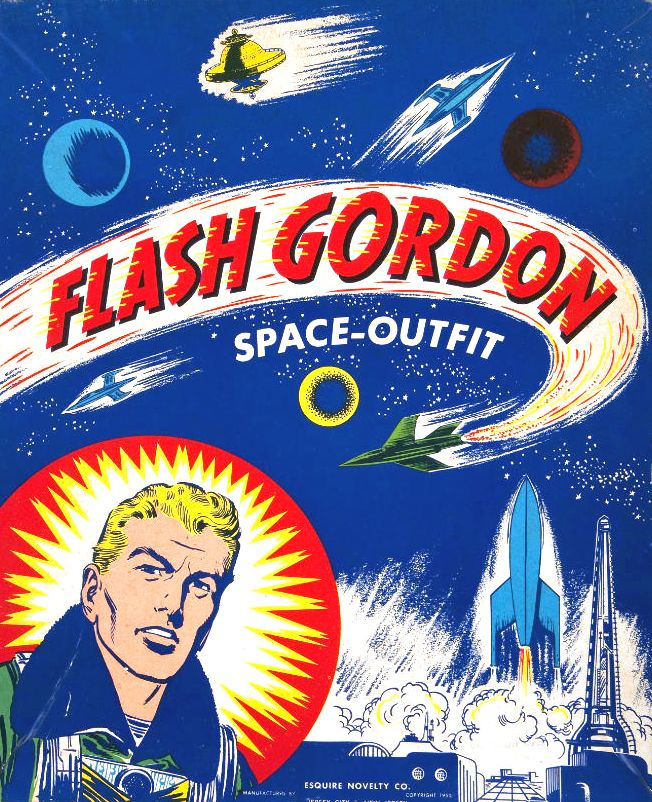 Flash Gordon Space-outfit