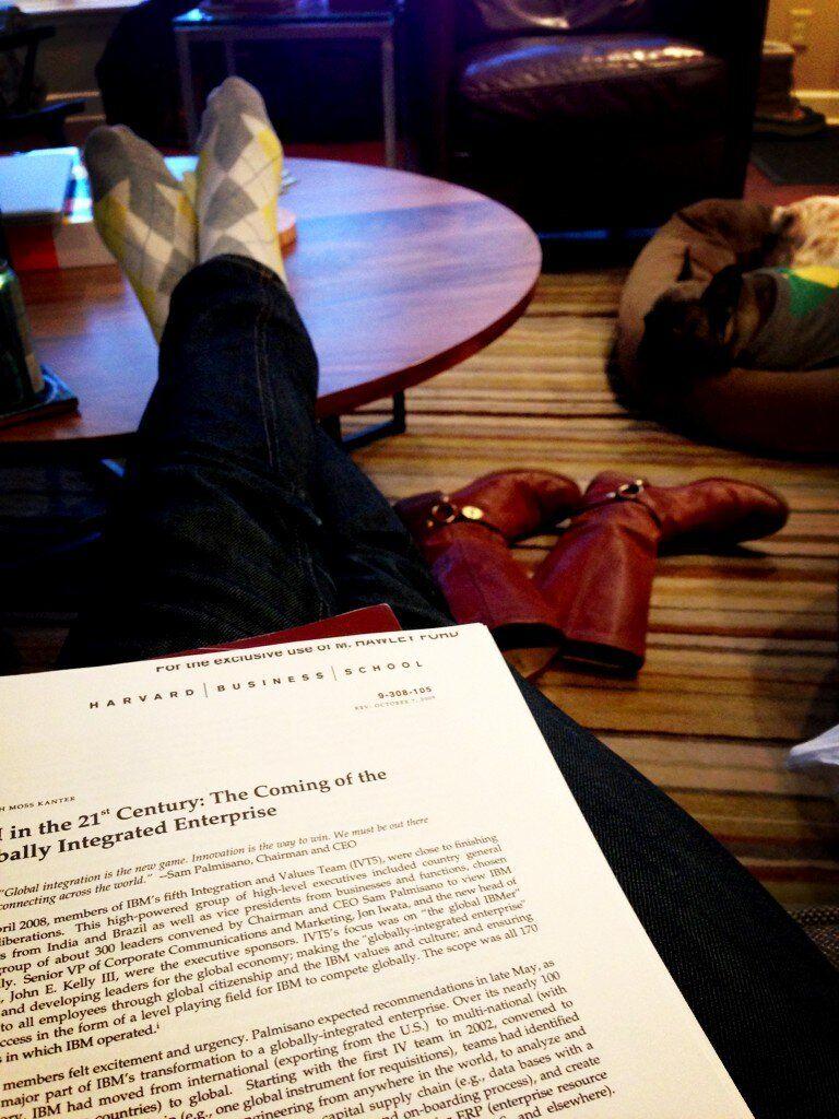 Hawley Ford on Mba, Homework, School