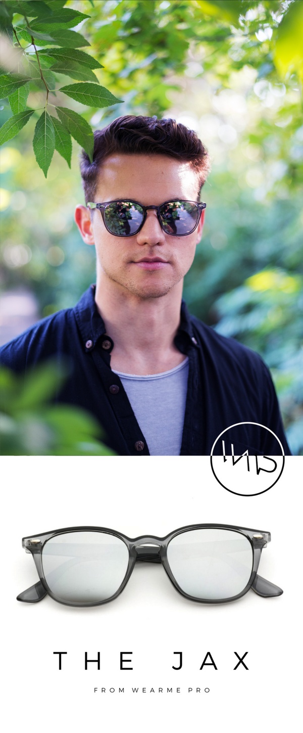 94fcc495206 A timeless piece of men s horn-rimmed eyewear is given modern flair with a  unique