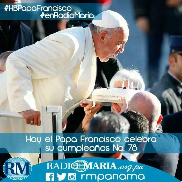 El Papa Francisco nace un 17 de dic. de 1936 en Flores, Buenos Aires-Argentina. Eleva una oración en su cumpleaños!