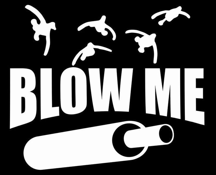 Blow Me Funny Duck Call Decal Sticker Custom Sticker Shop