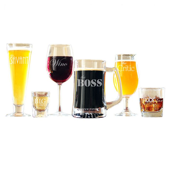 6-Piece Soiree Glass Set - Gift Idea| For Him & Her | Cool Stuff ...