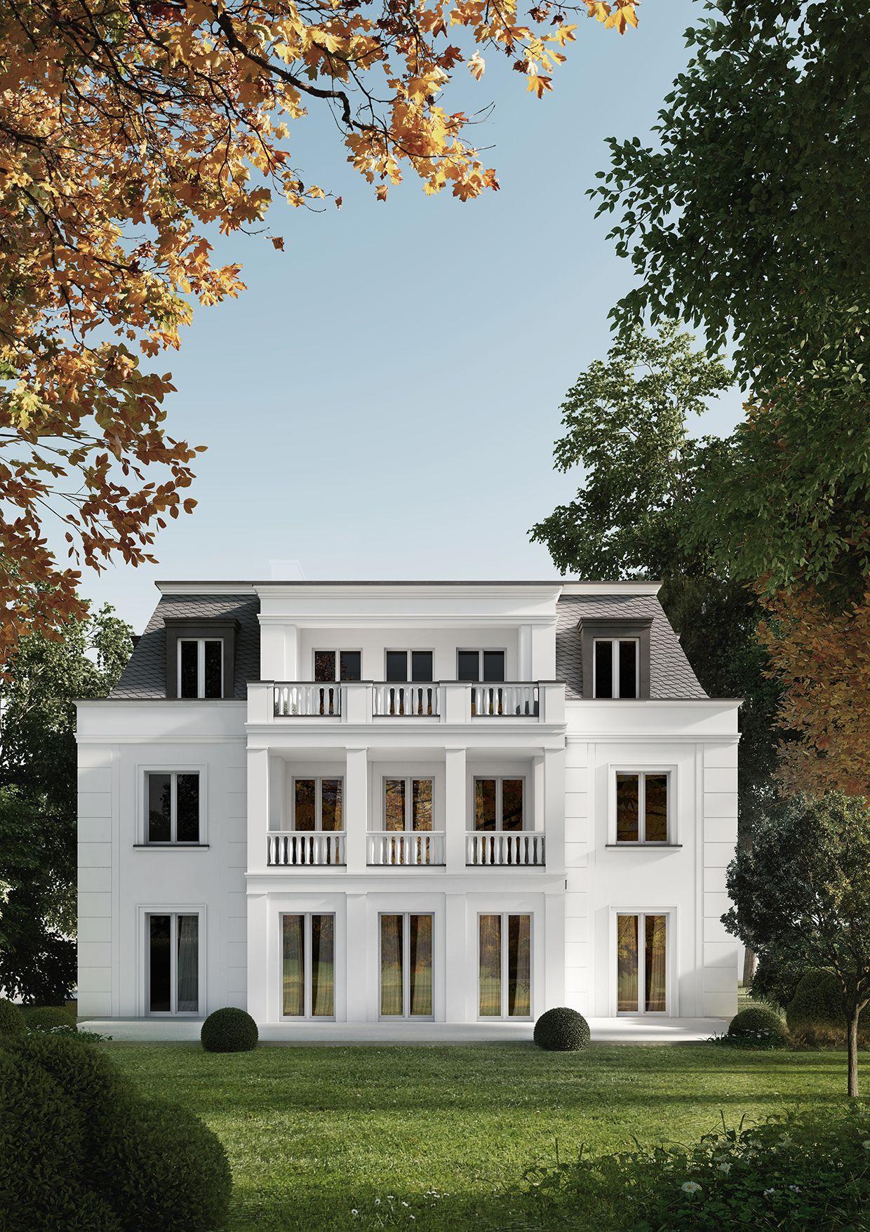Mehrfamilienhaus mit 3 Wohneinheiten, Berlin Grunewald | Exteriors ...