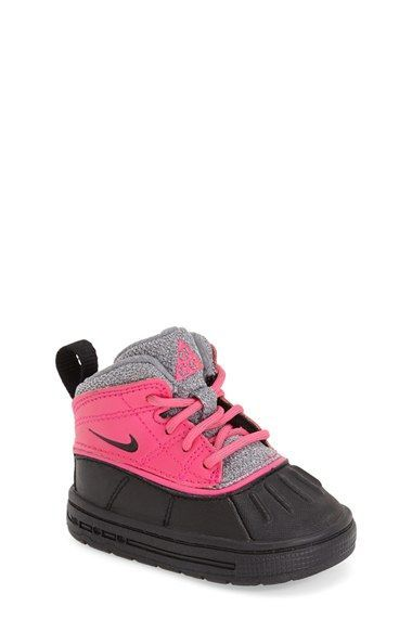 Electric hues energize a rugged, rubber-soled boot designed for water-resistant, cold-weather comfort. | KidStylin.com