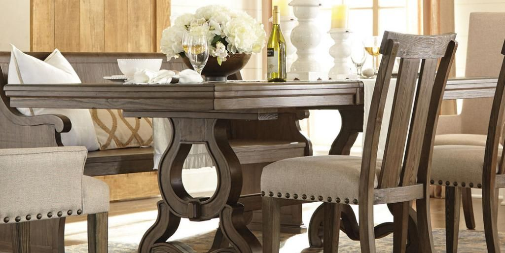 Wendota Dining Room Table By Ashley HomeStore Brown