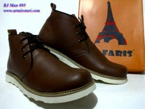 Sepatu Boots Pria Contact Kami Sms Center 081315979176
