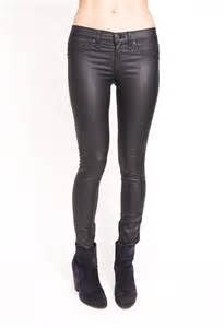 leather jeans x