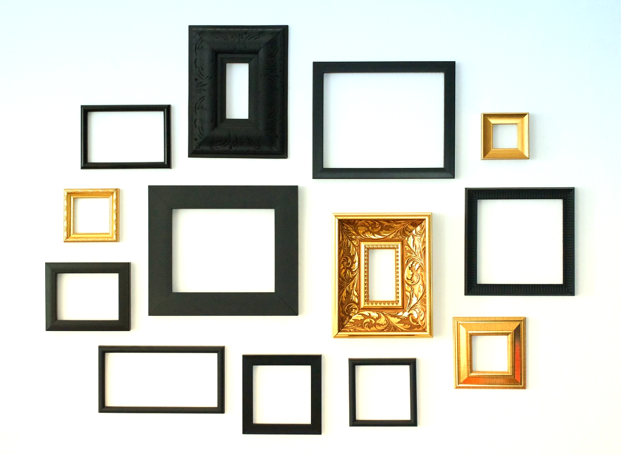 Cups Bowls Frames Emptiness Can Be The Very Purpose Of Existence And For Our Frames That Is Certainly Small Picture Frames Picture Frames Frames On Wall