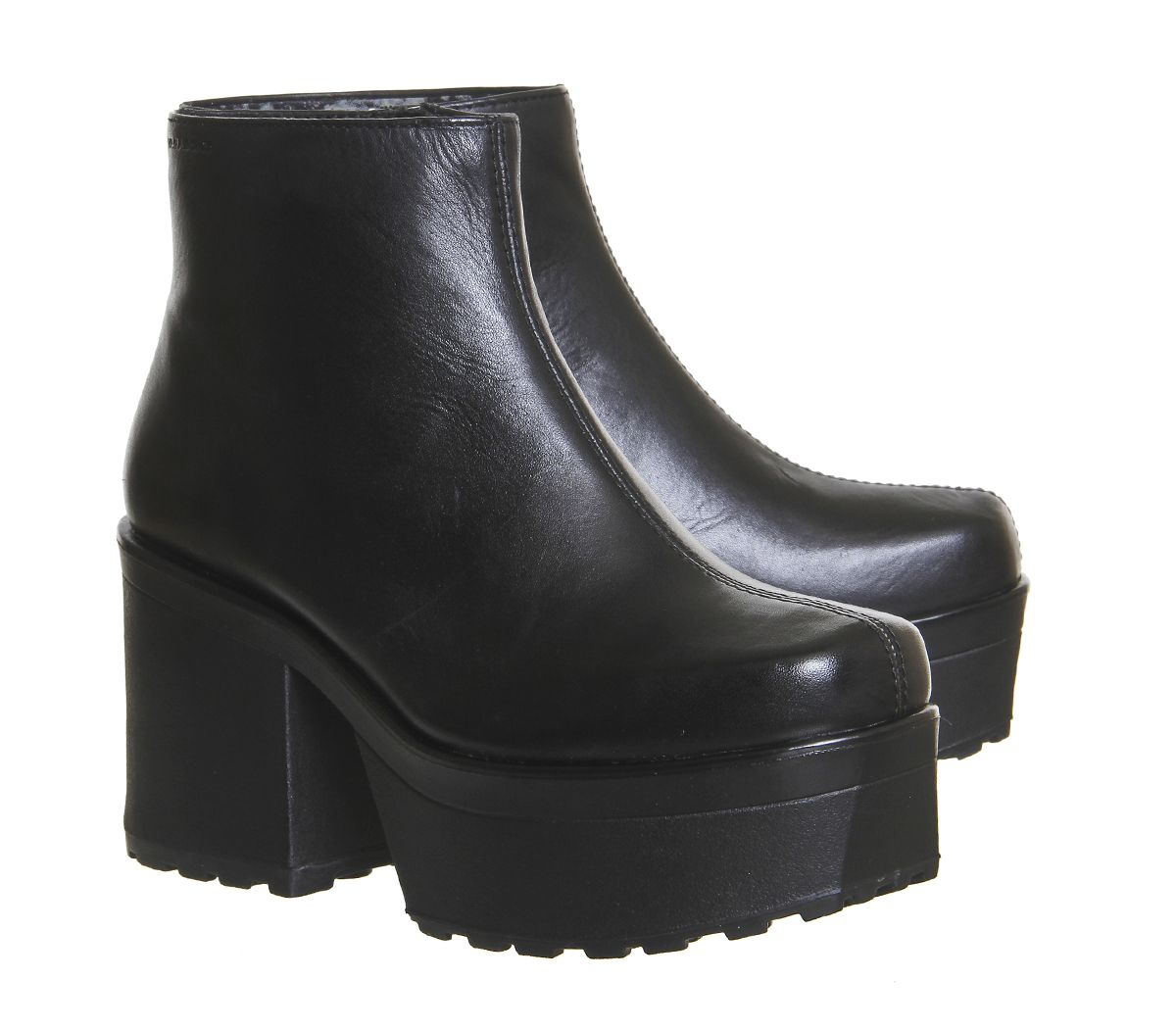 Buy Black Leather Vagabond Norah Boots from OFFICE.co.uk.