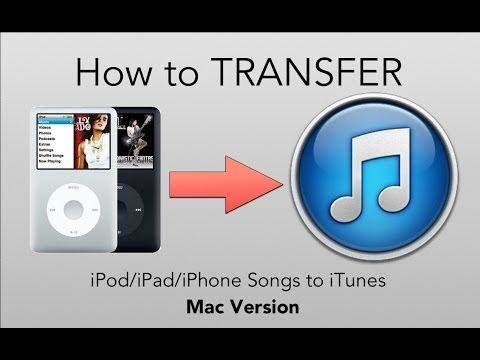 [HOW TO] Transfer Music From iPod to iTunes (Mac Version