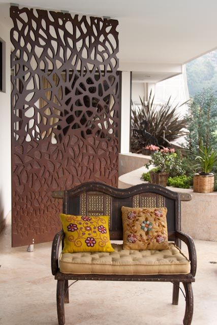 Rigips Raumteiler fablab colombia screen biombo dekoratif seperatör front yard