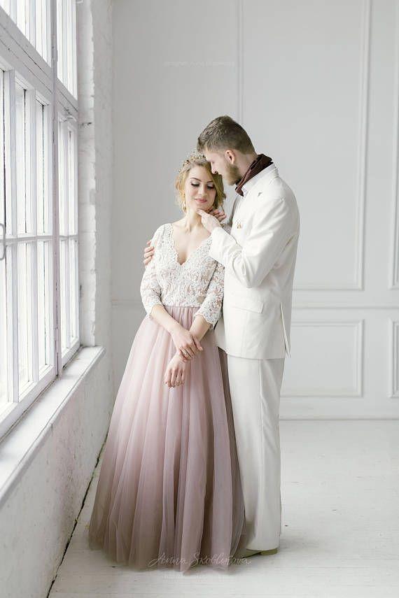 Beste Welche Farbe Brautjunferkleider Mit Blush Brautkleid Ideen ...