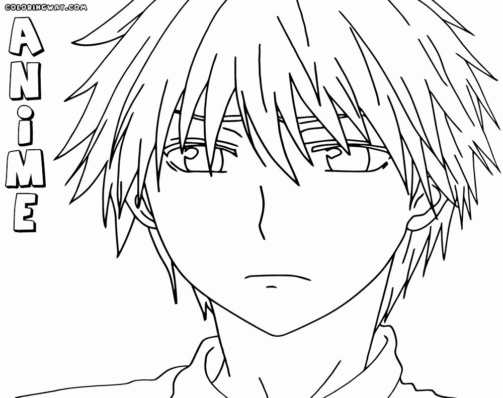 Anime Guy Coloring Pages Awesome Anime Boy Coloring Pages In 2020 Coloring Pages For Boys Coloring Pages Animal Coloring Pages