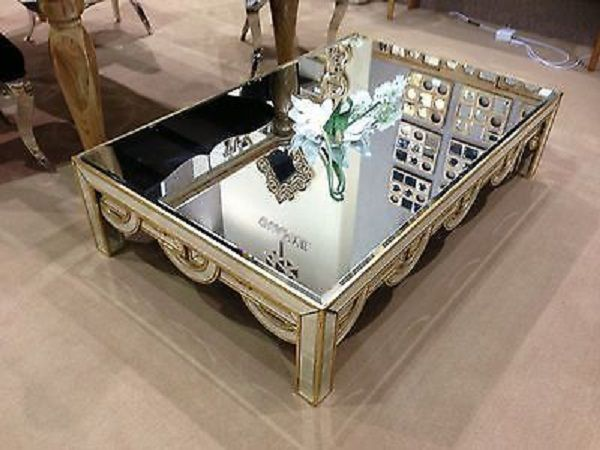 macys mirrored coffee table Table Designs Plans Pinterest