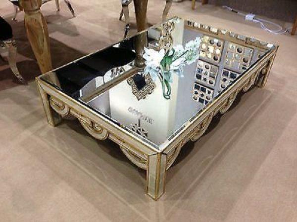 Macyu0027s Mirrored Coffee Table
