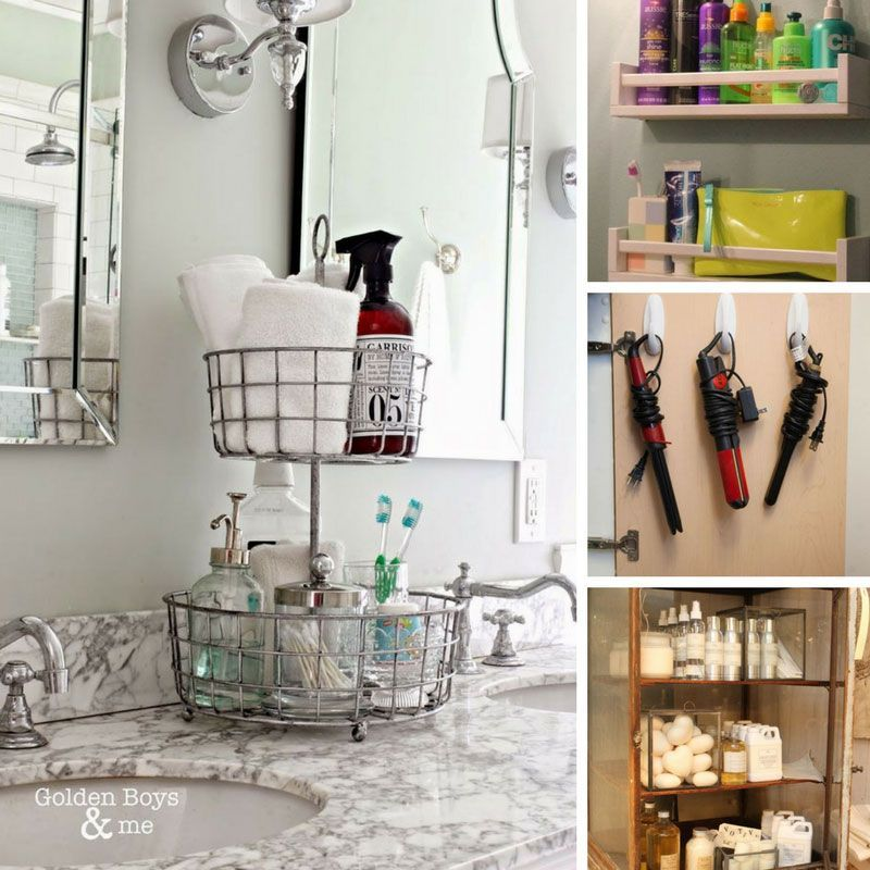 Find Out How To Organize Your Bathroom Once