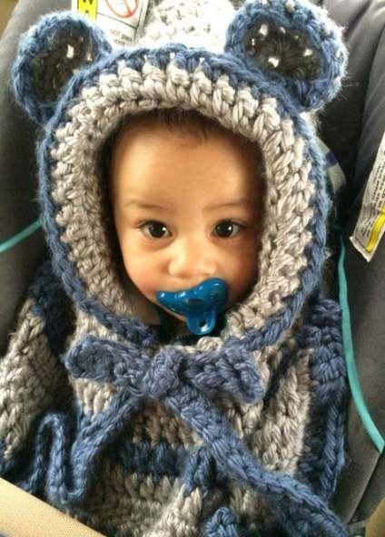 Crochet baby poncho car seats 39+ ideas for 2019 #babyponcho