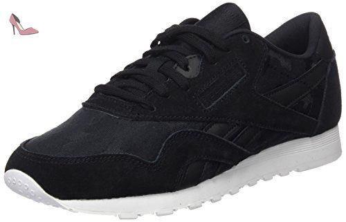 Workout Plus, Sneakers Basses Garçon, Blanc (White/Royal), 37.5 EUReebok