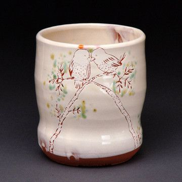 Birds On Branches Cup By Ayumi Horrie $64. Pottery PlaceSweet ...