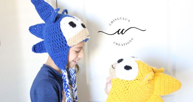 Inspired by Sonic the Hedgehog – Crochet Hat Pattern  127abfffedb