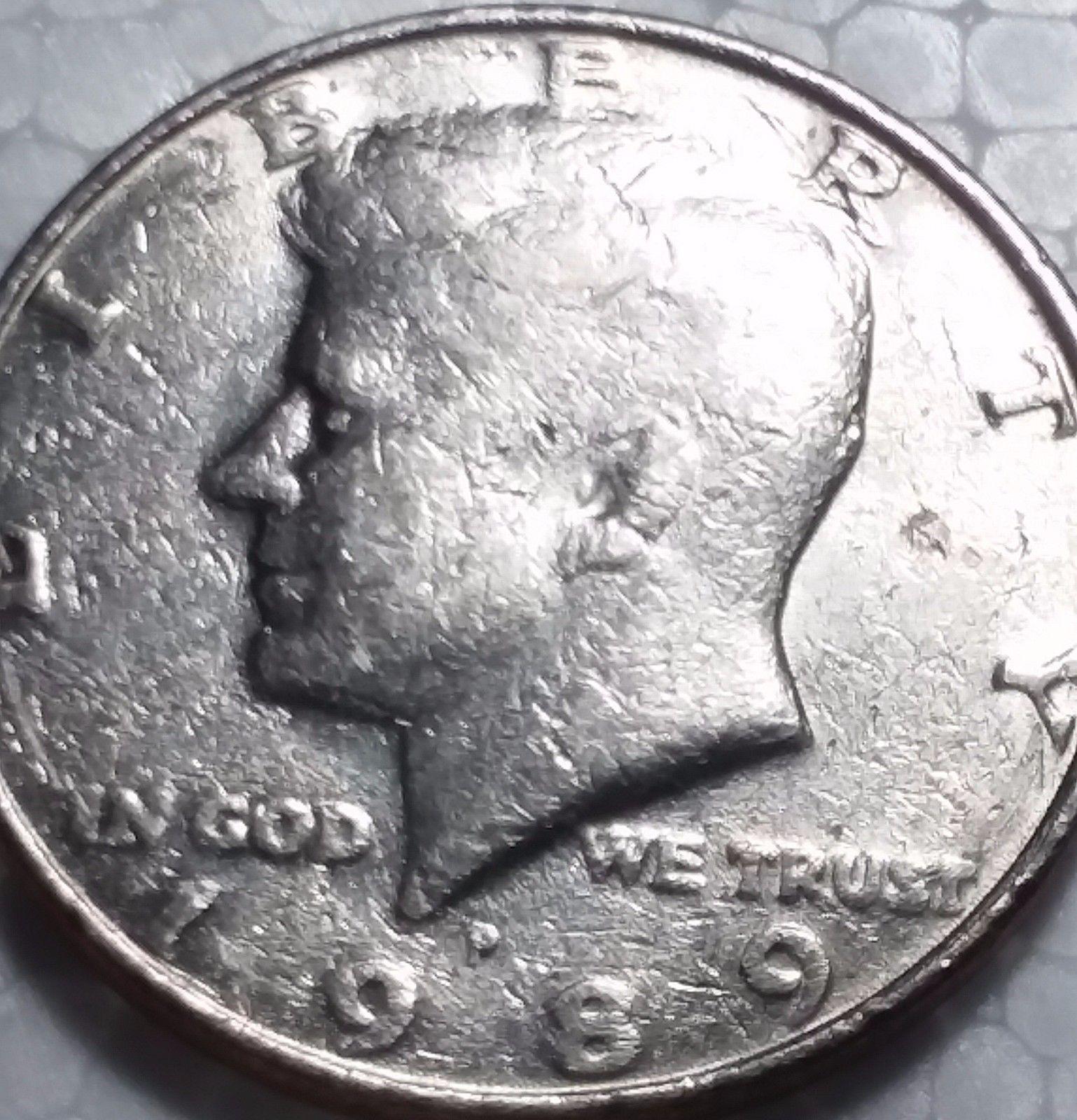 error #errorcoins MS Error Coins Kennedy Half Dollar 1989 P Struck