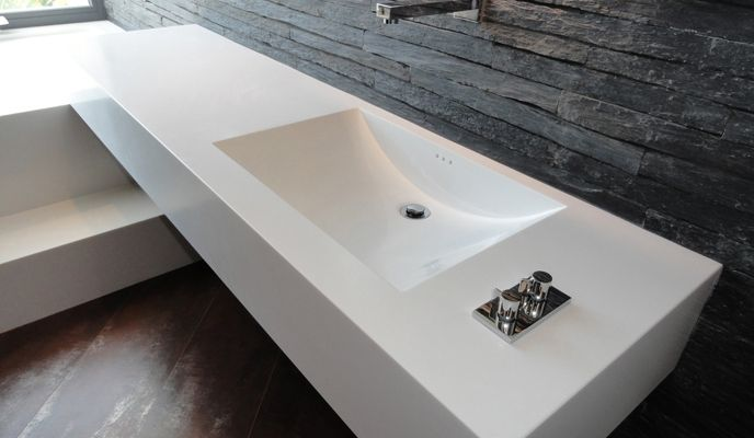 Lavabo bagno moderno seamless bagno notte bathroom marble