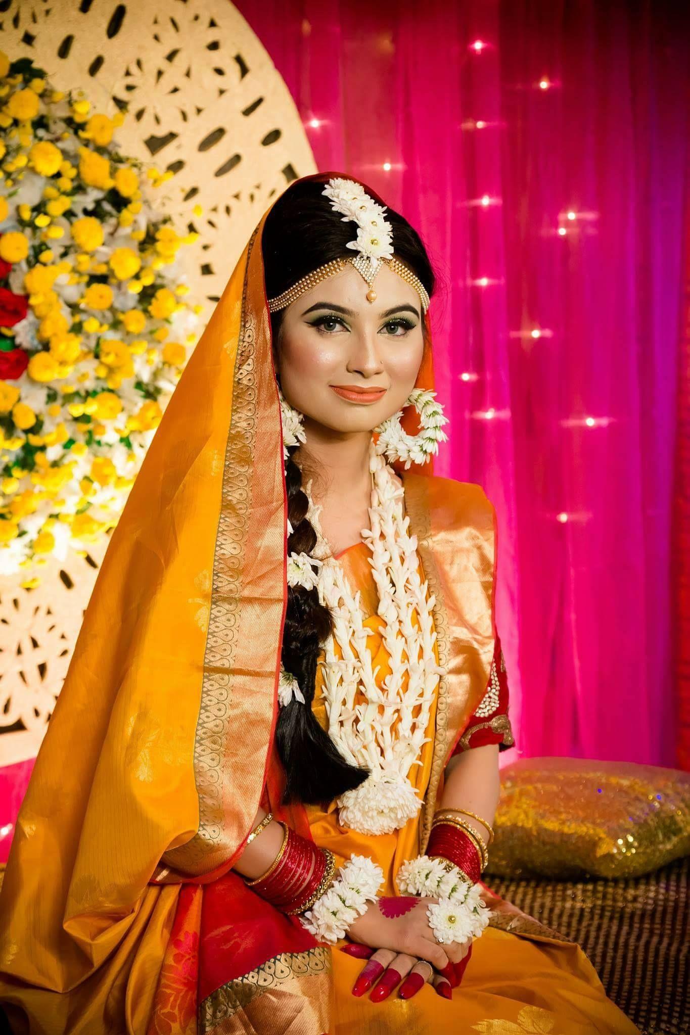 bangladeshi flower jewellery   bridal flower jewellery