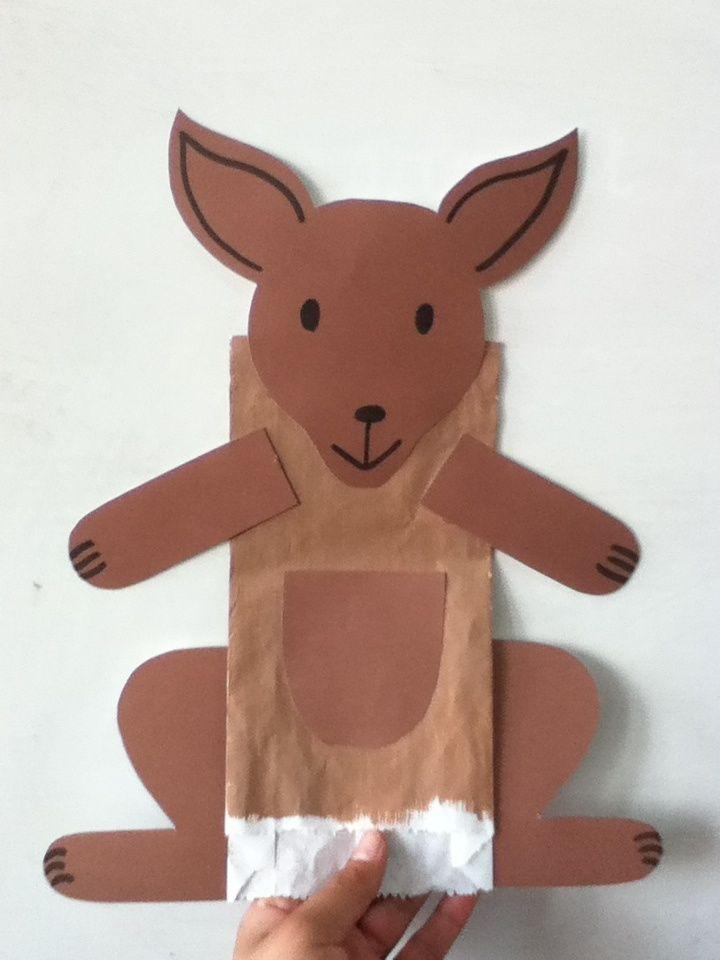 canguro manualidades - Buscar con Google | Lauiti | Pinterest ...