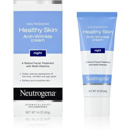 Neutrogena Healthy Skin Retinol Night Cream Vitamin E Glycerin