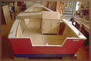 lumberyard skiff - easy to build well liked boat 16 or 20 feet