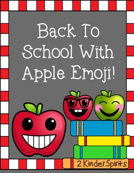 What a fun way to start the school year with apple emoji! Included in this packet are the following: *Name writing practice *How are you feeling? writing *How are you feeling? graphing pieces *Cutting practice *Glue practice *Graphing emoji *More/Less *Comparing sizes *5 frame counting *Cut and paste counting *Count and write