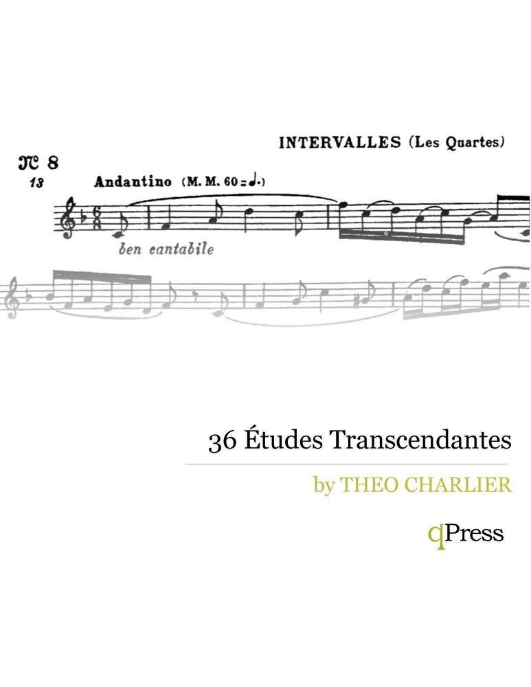 36 Etudes Transcendantes pdf qPress   boise trumpet lessons