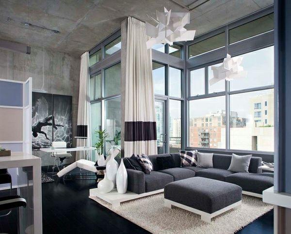 Salon déco style industriel en quelques exemples