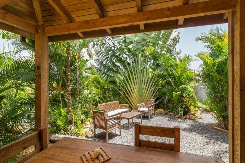 Location de bungalow avec piscine saint fran ois en - Bungalow guadeloupe piscine privee ...