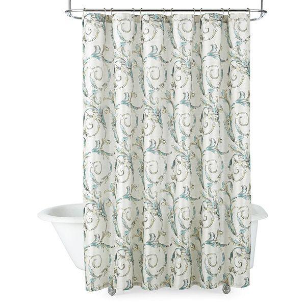 Royal VelvetR Diana Shower Curtain