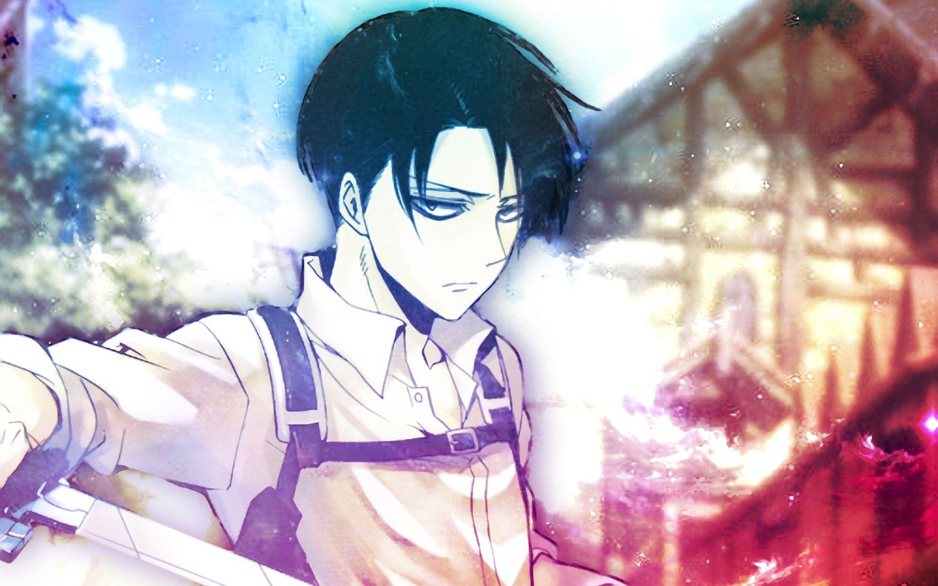 Anime Attack On Titan Levi Ackerman Shingeki No Kyojin