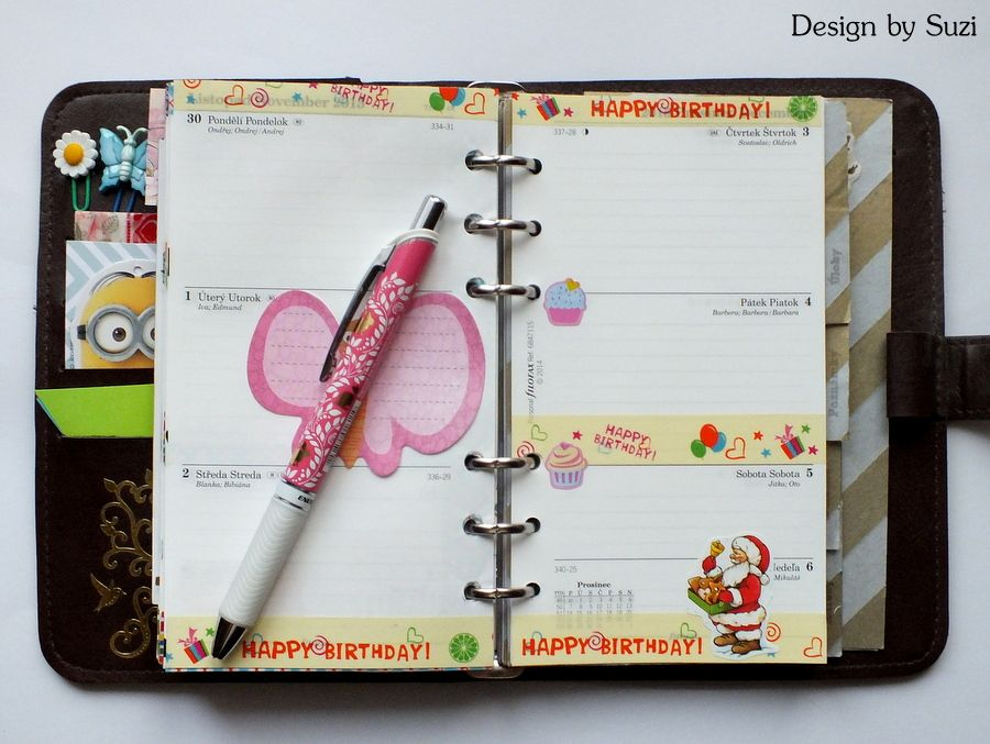 The week nr.49 - Birthday week #planner