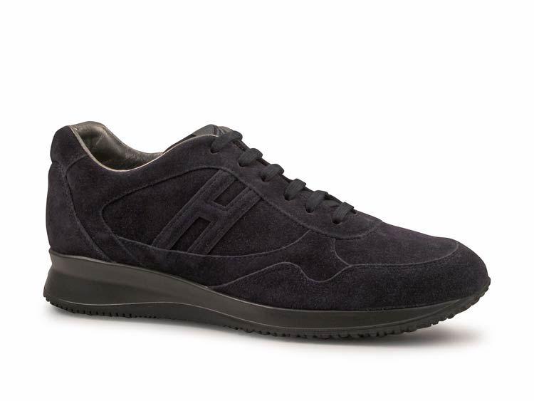 cbea0a509da88 Sneakers Hogan uomo in pelle Scamosciato Blu scuro - Italian Boutique  186