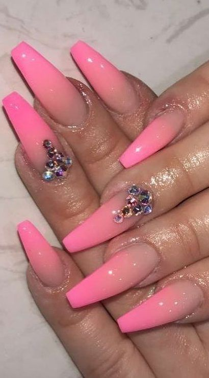 58 Stylish Acrylic Nail Design Ideas Perfect For 2019 Part 21 Best Acrylic Nails Acrylic Nail Designs Nail Designs