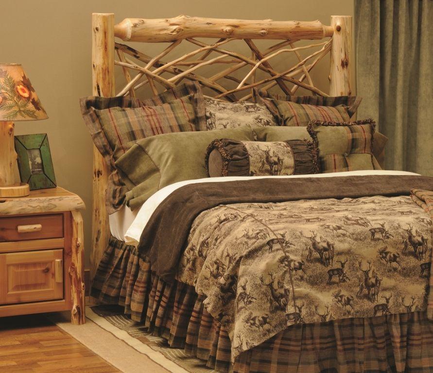 Southern Creek Rustic Furnishings: Wildlife Venture Bedding Set