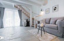 Salon styl Skandynawski - zdjęcie od TIKA Architektura wnętrz i krajobrazu