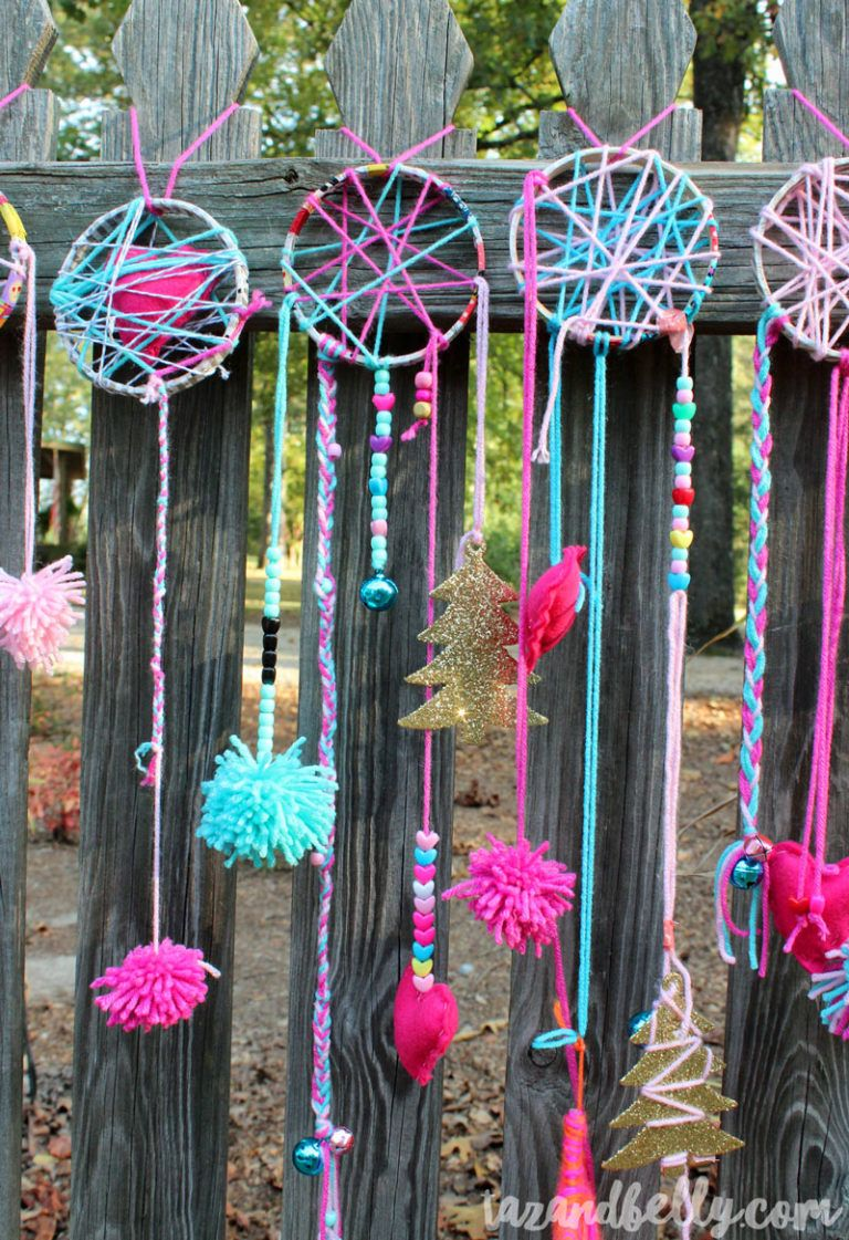 Photo of DIY Dream Catcher Party Craft – Taz and Belly